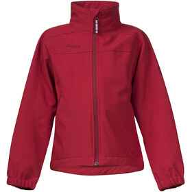 Bergans Kids Reine Jacket Red/Burgundy
